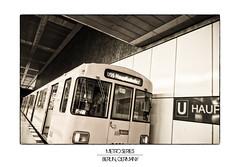 Berlin Metro Series, Berlin, Germany (german_long) Tags: berlin germany subway metro subte alemania