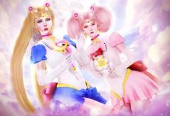 Moon Justice! (cerezachan) Tags: sailormoon usagi chibiusa anime cosplay crystalheartfestival crystalheart kawaiipon ponpon kawaii gamigacha nani miwa pillows