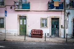 exposed (_gate_) Tags: lisboa lisbon pt portugal lonely couch street sofa sitzgelegenheit strase lissabon europe travel europa 2015 september nikon d5300