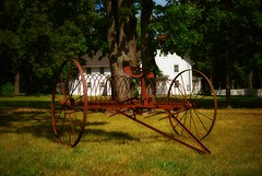 Old horse-drawn farm implement in Smithtown, Long Island, New York (Paul Anthony Moore) Tags: smithtown smithtownhistoricalsociety longisland newyork stonybrook