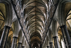 Anor Londo (Martin Davies - Photographer) Tags: england colour detail souls architecture contrast dark moody cathedral geometry gothic columns shapes arches ceiling tone londo anor