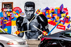 Ali Mural in Williamsburg, Brooklyn (jamesteccodesign) Tags: newyorkcity vacation newyork statue brooklyn america liberty island photography design chelsea hamilton ali batterypark timesquare williamsburg statueofliberty ellisisland muhammad chelseamarket thegreatest tecco jamestecco