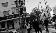 P. DE VALDIVIA PROVIDENCIA (jpi-linfatiko) Tags: street city santiago people urban blackandwhite bw blancoynegro blackwhite calle exterior ciudad bn personas urbana urbano blanconegro providencia pedrodevaldivia inclinada