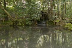 Jardin Japon (Gorka Zarate) Tags: green water japan garden agua nikon kyoto jardin reflejo kioto japon chorro d7100