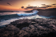 Bali - Devil's Tear (claudecastor) Tags: travel sunset bali rot nature sunrise indonesia landscape coast rocks asia asien southeastasia sdostasien sonnenuntergang natur landschaft sonnenaufgang indonesien reise kste felsen klippen nusalembongan devilstear