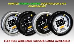 AEM Introduces its New and Vibrant Flex Fuel Wideband FAILSAFE Gauge (vividracing) Tags: display performance led electronics aem tuning gauges ratio boost ethanol wideband