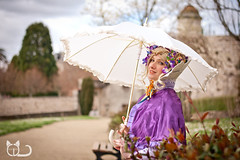 Isabelle Jeudy #4 (Cl@ire.d) Tags: france umbrella cosplay bokeh shooting couleur cosplayers limousin parapluie worldchampion ombrelle hautevienne profondeurdechamp sancephoto ledorat championnedumonde festivalmanga isabellejeudy