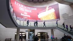 Paris le Mercredi 15 Juin 2016 (desparlsp) Tags: paris france mtro alcool publicit ligne14