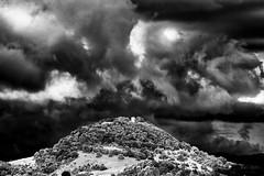 In these Days of Rain... (Ody on the mount) Tags: bw monochrome licht himmel wolken sw schwbischealb achalm