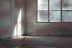 School's Out Forever (Doris Burfind) Tags: school windows light shadow abandoned paint classroom decay haltonhills