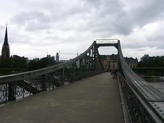 Frankfurt am Main - Eiserner Steg (Seesturm) Tags: 2016 seesturm germany frankfurt hessen main city brigdes