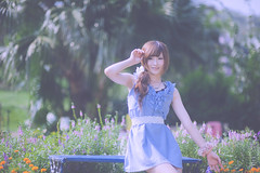 _DSC2776 () Tags: portrait woman cute beauty nikon dress d f14 85mm kawaii brunette charming   taoyuan        8514     d3s nikonafnikkor85mmf14dif 2010201009
