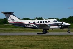 C-GMNM (Algonquin Airlink) (Steelhead 2010) Tags: beechcraft kingair b200 yhm creg cgmnm alginquinairlink