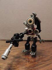 Confused search-bot (joaqunechavarra) Tags: robot lego fantasy scifi minifig custom mech minifigure moc npu purist