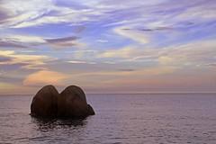 IMG_4584 ~ alone (achem74) Tags: telukcempedak kuantan pahang malaysia travel places trip beach coast sunrise canon eos eos700d tamron tamronlens 18mm200mm