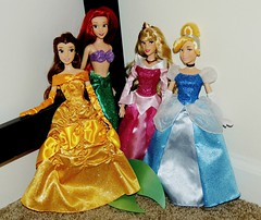 New Classics. (They Call Me Obsessed) Tags: new sleeping classic ariel beauty store doll dolls dress princess little barbie royal parks disney diamond collection aurora classics belle beast cinderella gown mermaid edition princesses 2016