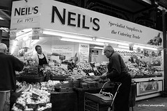 Neil's greengrocer #2 (MAMF photography.) Tags: city uk greatbritain england blackandwhite bw blancoynegro blanco monochrome town blackwhite google nikon flickr noir noiretblanc market unitedkingdom britain negro north leeds gb upnorth pretoebranco schwarz biancoenero westyorkshire marketstall greatphoto googleimages greengrocers northernengland enblancoynegro ls1 kirkgatemarket mamf inbiancoenero leedscitycentre blancoenero schwarzundweis nikond7100 mamfphotography