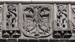 Relief Holstentor (Winterjasmin) Tags: blackandwhite deutschland german lbeck schwarzundweis