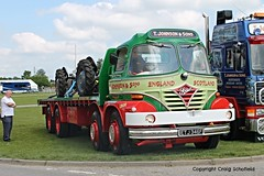 If Carlsberg made lorries... (Scatmancraig1974) Tags: etj346f etj 346f foden s21 2stroke two stroke 2 flatbed flat bed 8x4 8wheeler 8legger eight wheeler 8 t johnson sons hodthorpe worksop aec rally newark showground nottinghamshire lorry truck hgv lgv craig schofield scatmancraig