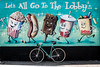 New York Street Art (jomak14) Tags: bianchipista gf2 lumixgvario1442f3556 newyork panasonic streetart wheremybiketakesme 2016 wellingcourtmuralproject