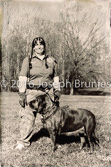 Blood Hound Trainer (Joseph Brunjes) Tags: blood hound trainer 2016 camp london walnut cove nc