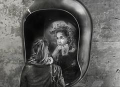 Miroir, miroir.... (krystinemoessner) Tags: bw monochrome expo nb le sw reims krystine taek surraliste c215 cellier totalphoto moessner