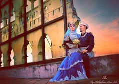 IMG_4863i (mcrb26streetdrag) Tags: hijab wedding love canon ef35mm f14l prime lense couple malay perak malaysia kelly castle kahwin wide angle