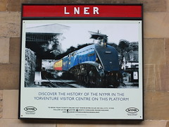 LNER Sir Nigel Gresley (SierPinskiA) Tags: diesel pickering steamlocomotive grosmont northyorkshiremoorsrailway diesellocomotive preservationrailways fujixs1