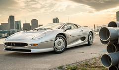 1994 Jaguar XJ220 With 446 Original Miles At Curated (wupplescars) Tags: original miles jaguar 1994 xj220 curated