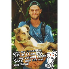 Round two! Tomorrow starting at 11am EST on Reddit, ask me anything! I've been on quite the adventure since my last AMA in Texas. #theworldwalk #travel #ecuador