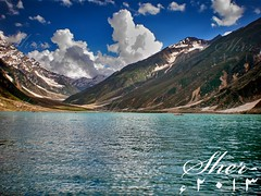 Lake Saif Al Malook | A fairytale (C@MARADERIE Thankyou for 100,000 + Views) Tags: blue lake mountains nature water clouds nopeople boating kaghan kaghanvalley naran kpk beautifulpakistan saifalmalook lakesofpakistan naturismphotography