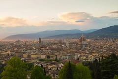 Florence (PierricChalois) Tags: sunset de soleil florence coucher firenze toscane italie ville