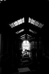 Into the Light (Metography) Tags: light blackandwhite beautiful architecture leadinglines