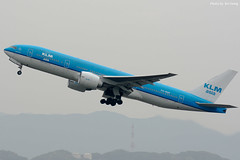 KLM B772 PH-BQF (KeiChang2013) Tags: klm b772