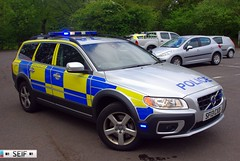 Volvo XC70 Dog Car (SF13 CXD) Glasgow 2013 (seifracing) Tags: england rescue dog fire volvo europe branch britain glasgow police daily east vehicles research drugs british emergency polizei policia recovery brigade polis polizia ecosse 2013