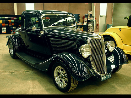 1934 Ford 5W coupe