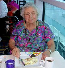 Fort Lauderdale - Janet at Breakfast (roger4336) Tags: cruise celebrity breakfast florida fortlauderdale caribbean janet omelet equinox lido celebritycruises 2013