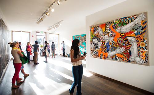 Gallery Walk - Photo Credit - GUS GUSCIORA