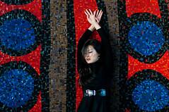 L. (Eric^^) Tags: girl beauty wall tile asian dance paint posed korean