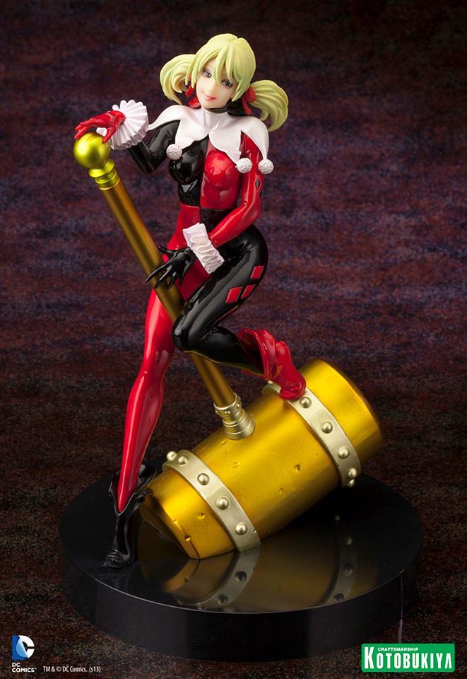 美貌現身!小丑女Harley Quinn限量雕像緊急發售!