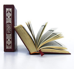 Quran (bestcommunity) Tags: red lebanon paper religious reading book open god library islam prayer pray books holly read holy papers bible ramadan isolated allah islamic quraan quran faithful opened coran kuran