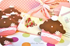 Cupcakes (Casinha de Pano) Tags: handmade felt feltro chaveiro lembrancinhas