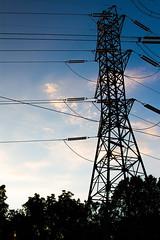 Industrial (Jeffington) Tags: sky color powerlines 28135mm canon7d