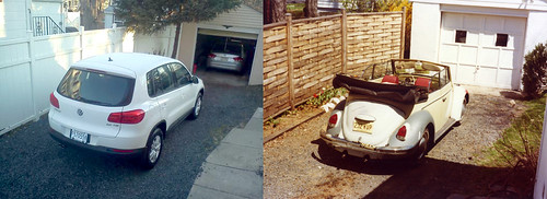 Same driveway, different VWs 36 years later Part 1