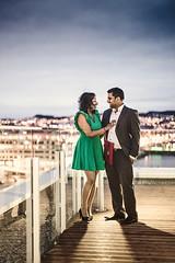 Darshiny & Gnanam (Severin Sadjina) Tags: woman man men love engagement women couple paar mann frau dame damen par fru srilankan männer frauen kvinne