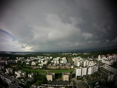 Dark Clouds (timo_w2s) Tags: storm rain clouds finland timelapse video helsinki cirrus vuosaari