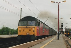 """Res Class 47/4, 47594 """"Resourceful"""" (37190 """"Dalzell"""") Tags: spoon northwestern res duff resourceful wigan class47 brush4 railexpresssystems class474 47739 47594"""