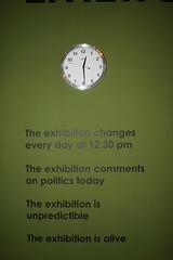 THE EXHIBITION IS UNPREDICTIBLE (Thierry Geoffroy / Colonel) Tags: 9thbienaldomercosullportoalegrebiennalebiennialsofíah climatechangeglobalwarming unpredictibleimprevu 9thbienaldomercosullportoalegrebiennalebiennialsofíahernándezchongcuy urgency art kunst ultracontemporary urgence alert alarm cimatechange globalwarming climatechange