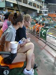 P1000632 (celeste_mer) Tags: 棒球 台南棒球場 2009年