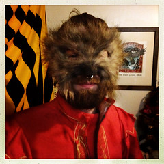 The Wolf Boy of '12 (crowolf) Tags: carnival fiction dan werewolf fur wolf beers circus creepy freak macabre sideshow freaks 2012 carnevil wolfboy loupe freakshow gaff craw fauxvintage ballyhoo strangevintagefictions crowolf crawandloupebrotherscombinedshows crowolfiantomfoolery crawandloupebrosallhallowseveodditorium crawandloupebrosallhallowseenodditorium12 wolffacedboy maskbydanbeers